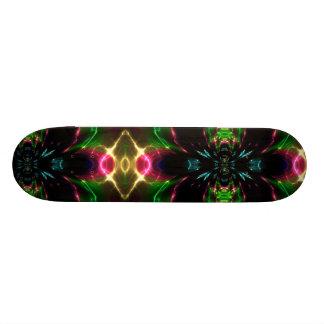 Orbiting Space Fractals Skateboard Deck