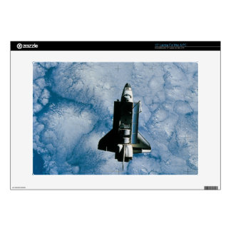 """Orbiting Space Shuttle 15"""" Laptop Decal"""