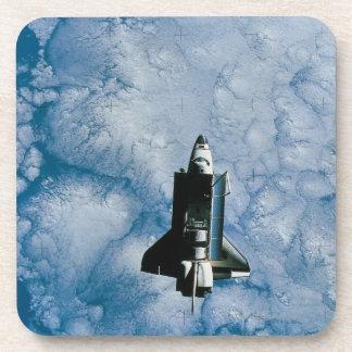 Orbiting Space Shuttle Drink Coaster