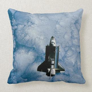 Orbiting Space Shuttle Pillow