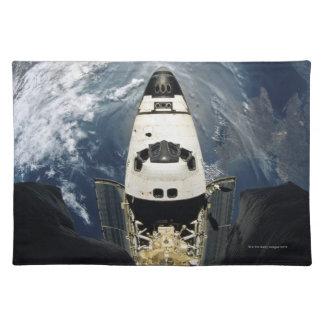 Orbiting Spacecraft Cloth Placemat