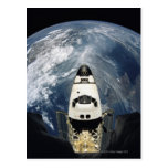 Orbiting Spacecraft Postcard