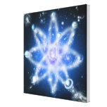 Orbits of planets gallery wrapped canvas