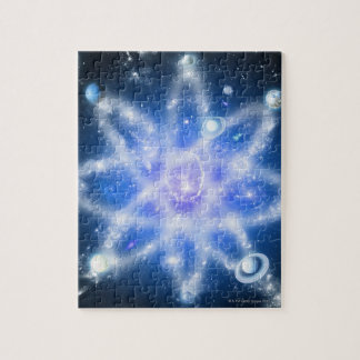 Orbits of planets jigsaw puzzle