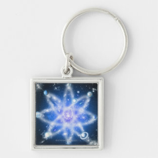 Orbits of planets keychain