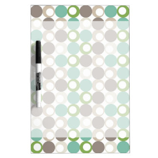 Orbs and Circles Dry Erase Board