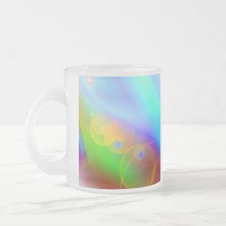 Orbs Frosted Glass Coffee Mug