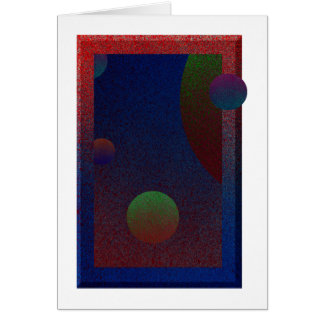 Orbs in Motion Card