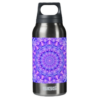 Orbs of Light Mandala Insulated Water Bottle