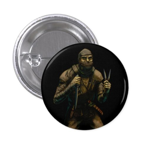 Orc Assassin Pinback Buttons