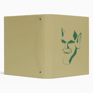 orc creature cranky face customizable binder