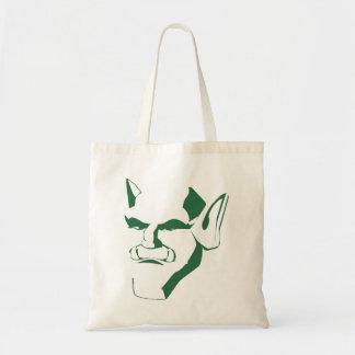 orc creature cranky face customizable tote bag