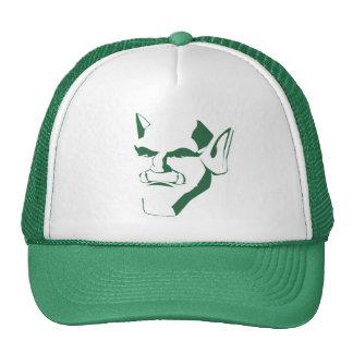 orc creature cranky face customizable trucker hat