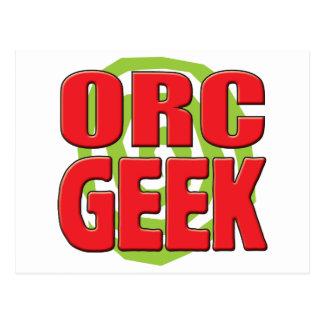 Orc Geek Post Card