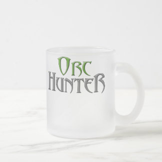 Orc-Hunter2 Frosted Glass Coffee Mug
