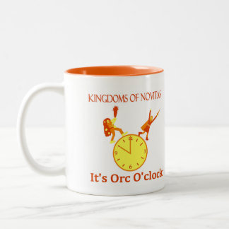 Orc O'Clock coffee mug