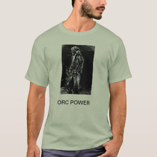 ORC POWER  BASIC T.SHIRT DESIGN. T-Shirt