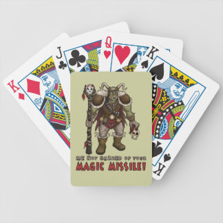 Orc Shaman Bicycle Playing Cards