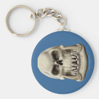 Orc Skull Keychain