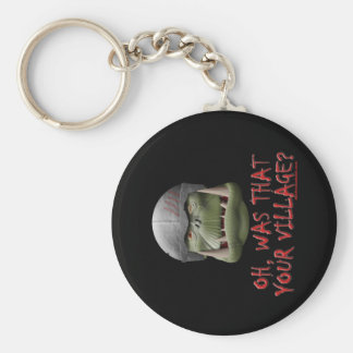 Orc: Was That Your Village? Keychain