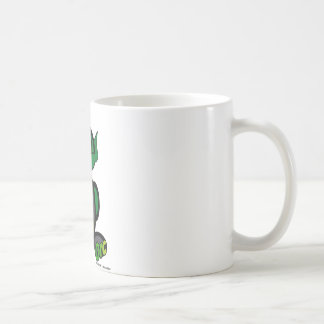 Orc (with logos) classic white coffee mug