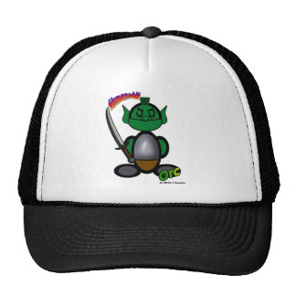 Orc (with logos) trucker hat