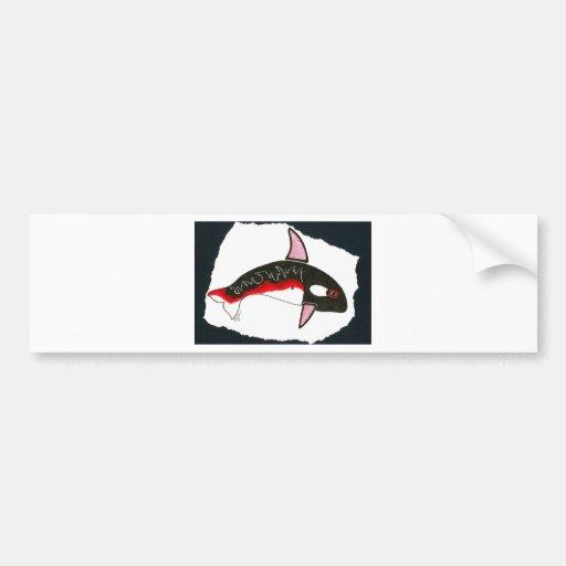 orca 001 bumper stickers