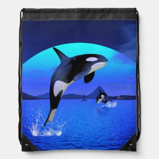 Orca 1 drawstring bag