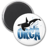 Orca 2 Inch Round Magnet
