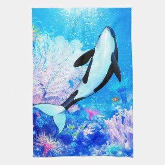 Orca 3 kitchen towel