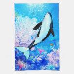 Orca 3 toalla de mano