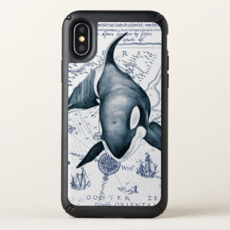 Orca Ancient Blue Speck iPhone X Case