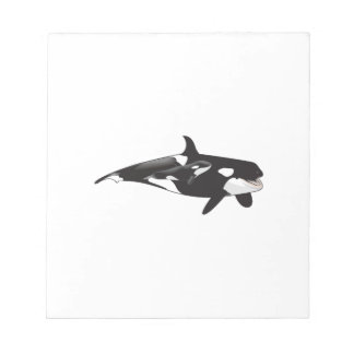 ORCA AND CALF NOTEPAD