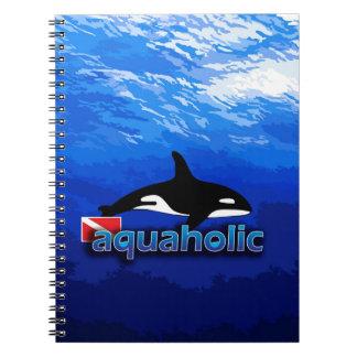 Orca/Aquaholic Libreta Espiral