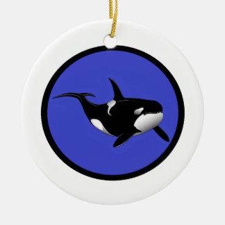 ORCA AZUL PACÍFICA ORNAMENTOS PARA REYES MAGOS