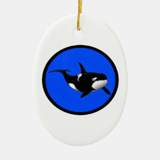 ORCA AZUL PROFUNDA ADORNO