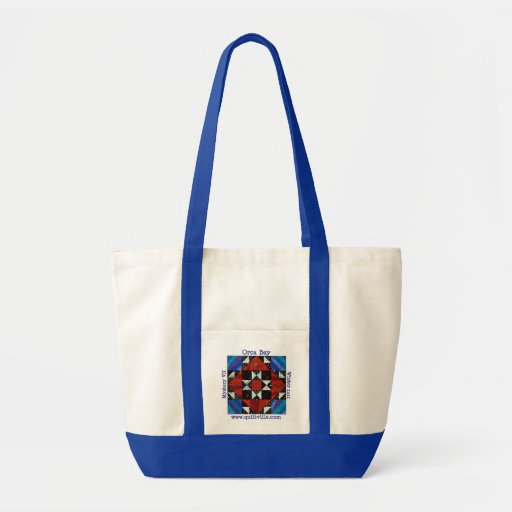 Orca Bay Mystery Quiltville Impulse Tote Bag