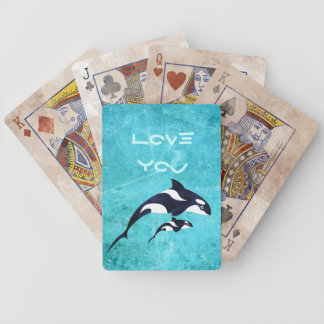 Orca Bicycle Playing Cards