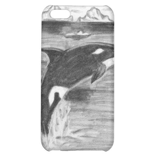 Orca blanco y negro