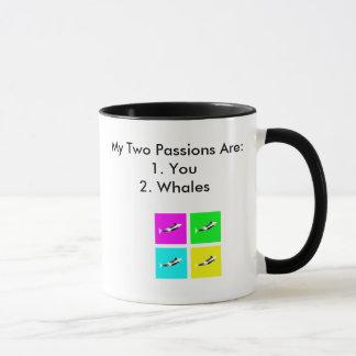 Orca Blocks In Four Colors Mug