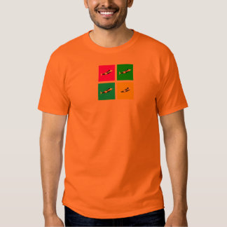 Orca Blocks In Four Colors T Shirt