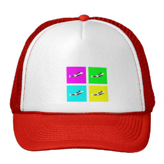 Orca Blocks In Four Colors Trucker Hat