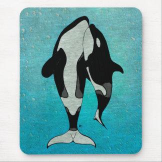 Orca Blue Mouse Pad