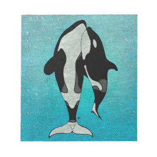 Orca Blue Notepad