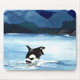 Orca Breach Mouse Pad