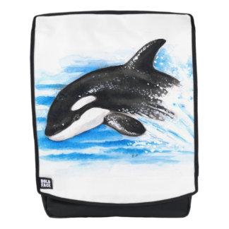 Orca Breaching Backpack