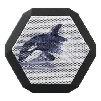 Orca Breaching Blue Black Bluetooth Speaker