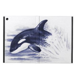Orca Breaching Blue Case For iPad Air