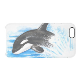 Orca Breaching Clear iPhone 6/6S Case