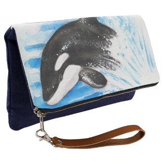 Orca Breaching Clutch